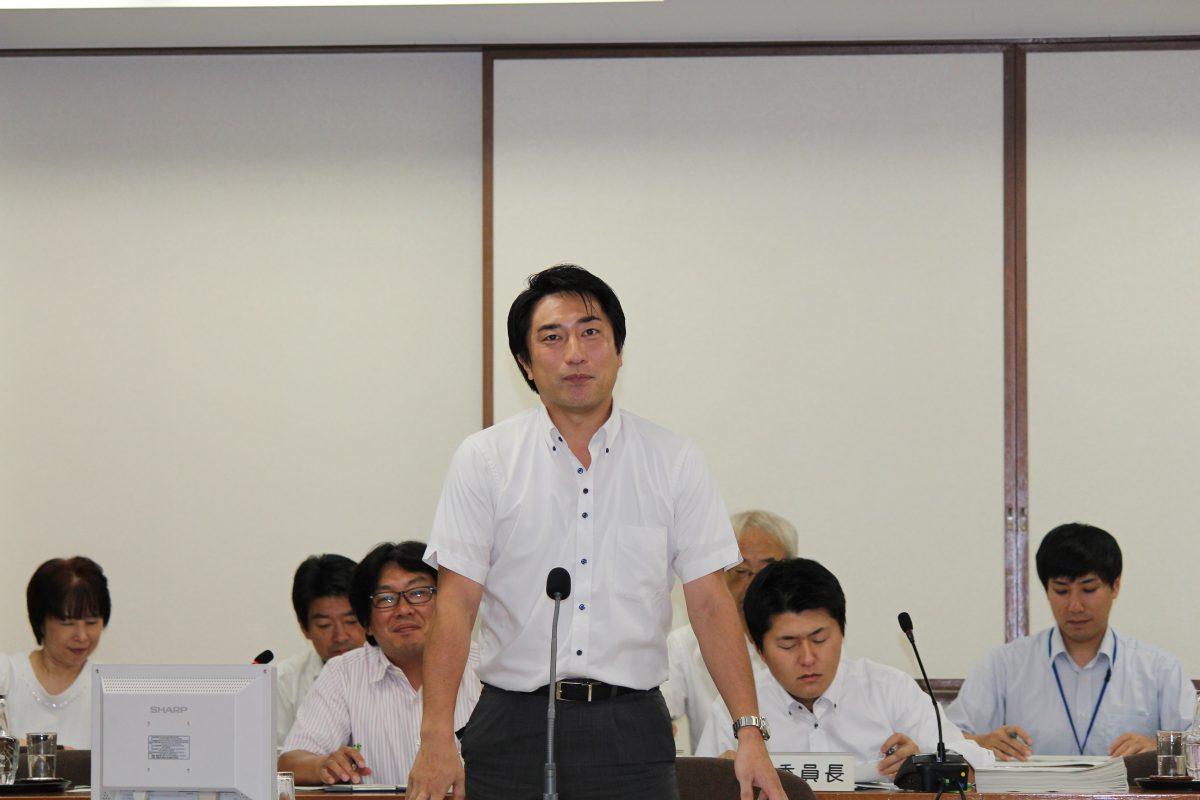 平成28年中野区議会(第3回定例会)決算特別委員会総括質疑