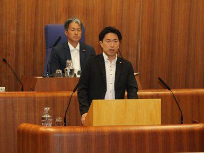 平成29年中野区議会(第2回定例会)一般質問に登壇しました。