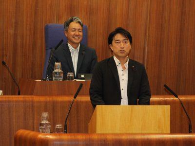 平成29年中野区議会(第3回定例会)一般質問に登壇しました。