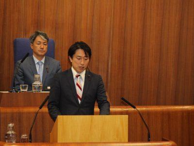 平成29年中野区議会(第4回定例会)一般質問に登壇しました。