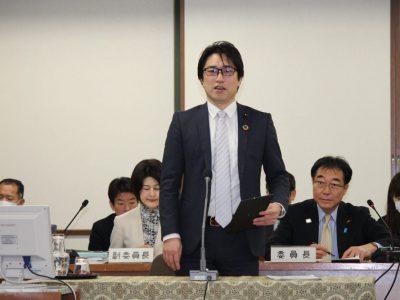 平成30年中野区議会(第1回定例会)予算特別委員会総括質疑に登壇しました。