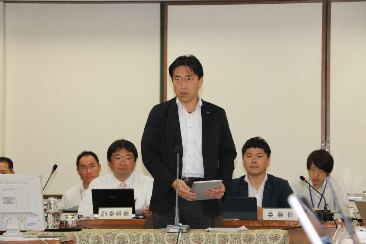 令和元年中野区議会(第3回定例会)決算特別委員会総括質疑